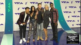 Total Request Live Cast at the 2017 MTV Video Music Awards at The Forum in Los Angeles