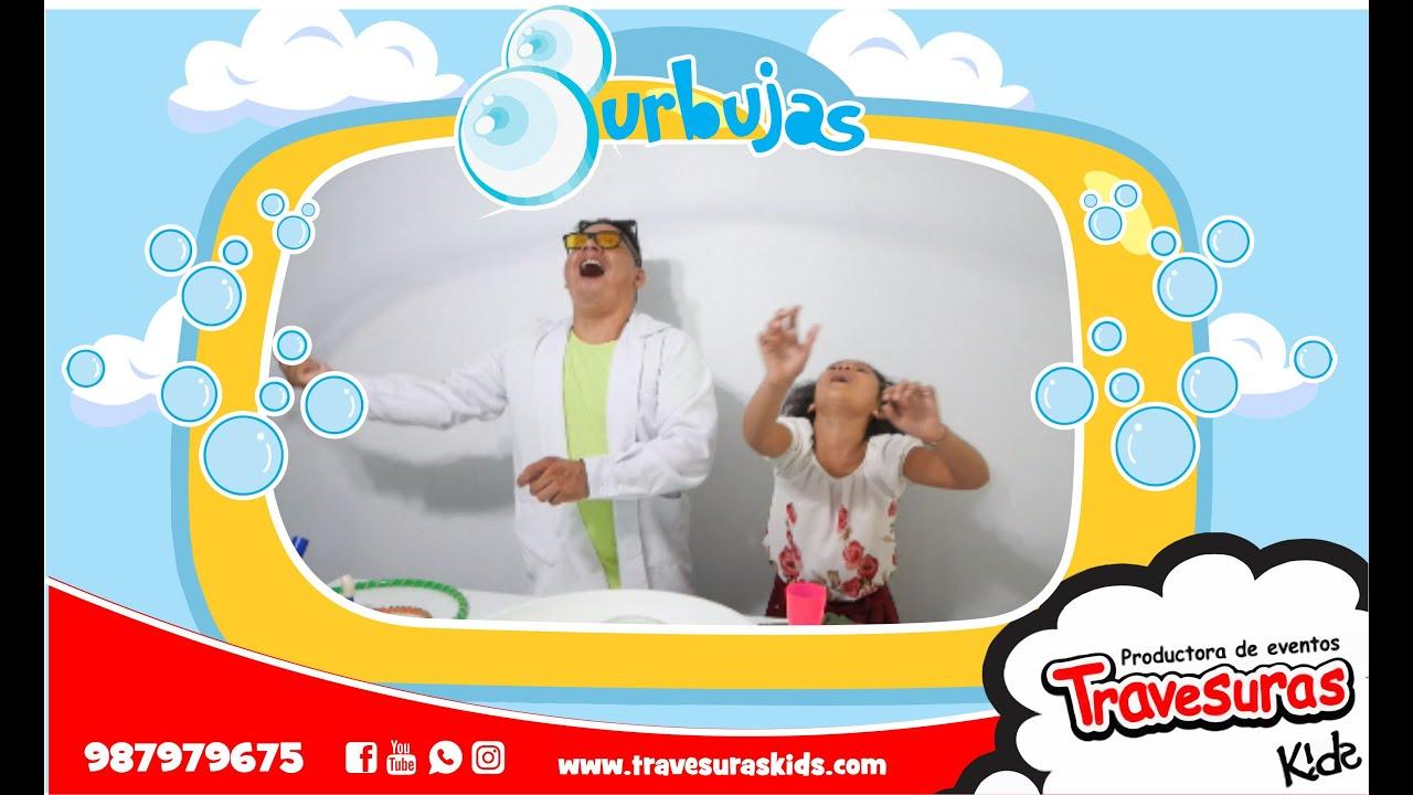 Haciendo Burbujas - Con el doctor Slime - Travesuras Kids