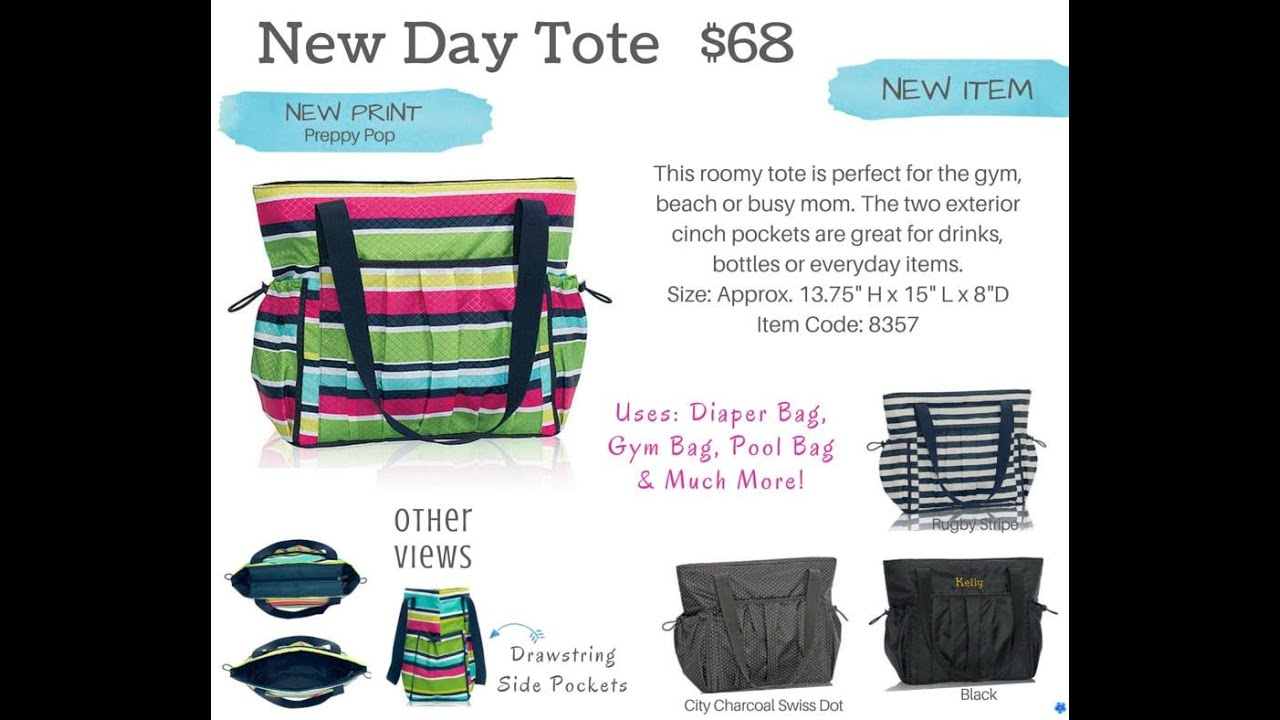 New Day Tote As Diaper Bag And Mommy From Thirty One Gifts