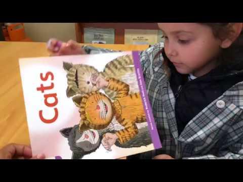 Prekinder children are starting to read! - Pumahue Huechuraba