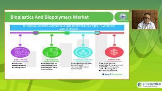 "BIOPOLYMER 2021: ""Marktpotentiale bioabbaubarer Kunststoffe in Indien"", Dr. Raju Desai, AIPMA"