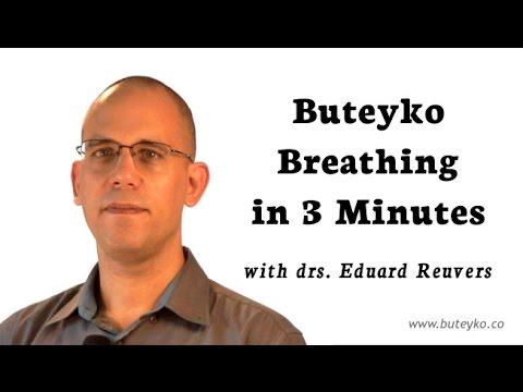 ★ Buteyko Breathing In 3 Minutes (w/ Drs. Eduard Reuvers)