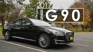 2017 Genesis G90 Review Test Drive