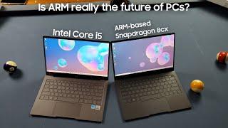 Galaxy Book S (Intel) vs Galaxy Book S (Snapdragon/ARM) Benchmark Speed Test!