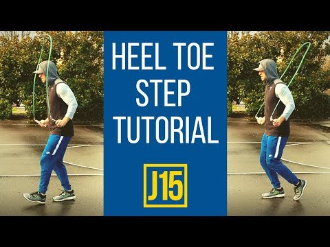 Jump Rope Heel Toe Step Tutorial (How To Jump Rope Like A Boxer Part 2)