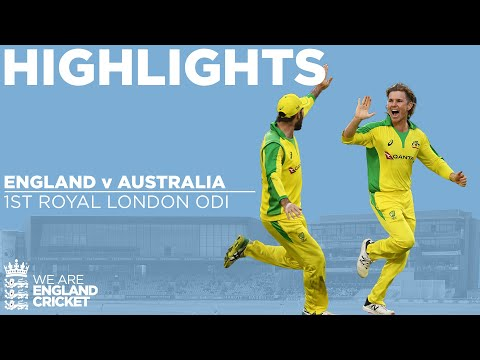 England V Australia Highlights | Billings Hits Maiden Ton In Tense Chase | 1st Royal London ODI 2020