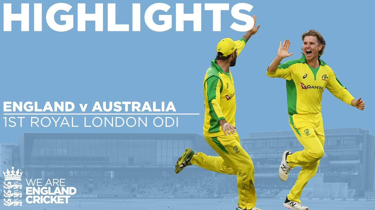 England v Australia Highlights  | 1st Royal London ODI 2020
