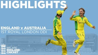 England v Australia Highlights | Billings Hits Maiden Ton In Tense Chase | 1st Royal London ODI 2020