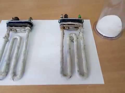 Средство от накипи для стиральных машин от тм Whirlpool против кальцинированной соды.