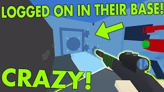 LOGGED ON IN THEIR LOOT ROOM! 🔥 SURPRISE BASE RAID! ( Unturned Vanilla Base Raid ) thumbnail