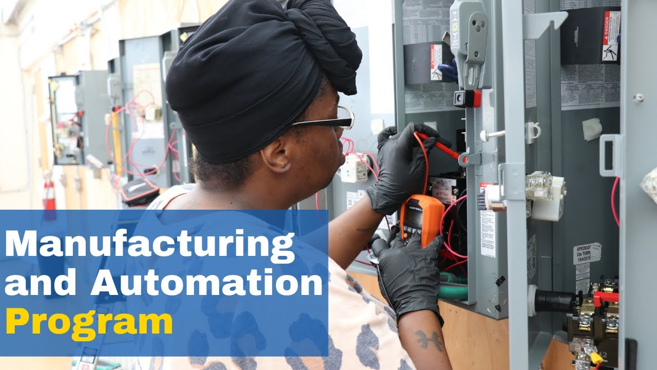Become an Electrician with Manufacturing and Automation ...