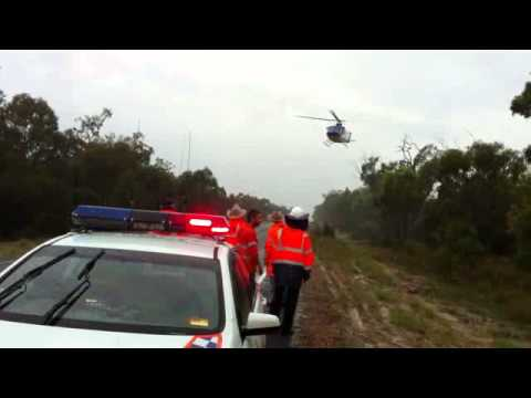 When you're a long way from a hospital, a helicopter rescue can make all the difference