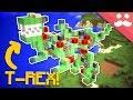 I Build a WORKING T-REX in Minecraft!
