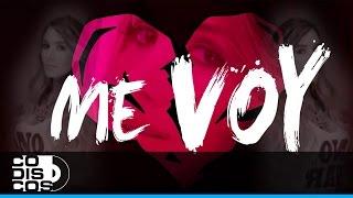 Me Voy, Sara Jaramillo Ft. Yelsid - Video Letra