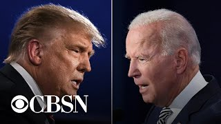 Trump and Biden prepare for debate as intel officials announce foreign election interference