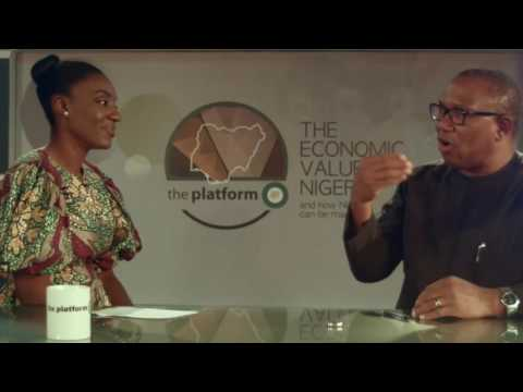 Peter Obi, former Governor, Anambra state speaks at The Platform on cutting wastage