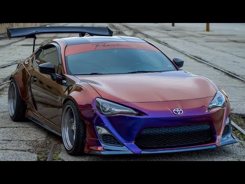 Cleaning WRAPPED Car! Rocket Bunny FRS
