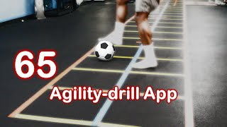 65 Free Agility Football Exercises for Soccer Players.