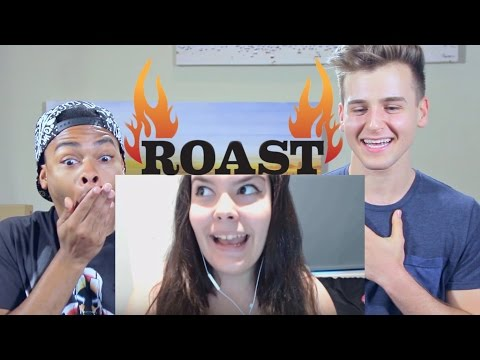 Reacting to This Girl Roasting Me