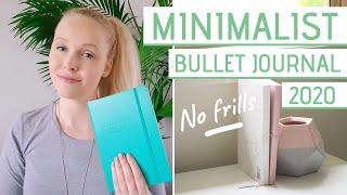 Minimalist BULLET JOURNAL setup 2020 » Flip Through Bujo