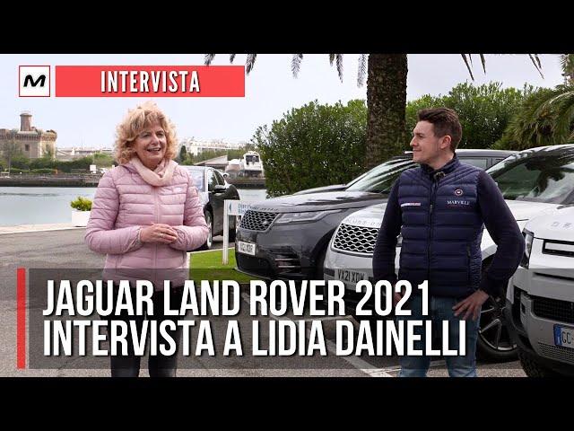 JAGUAR LAND ROVER 2021, LA GAMMA ELETTRIFICATA: intervista a Lidia Dainelli, direttore PR e stampa