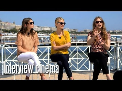 """Mélanie Laurent émue de l'accueil cannois de son second film """"Respire"""""""
