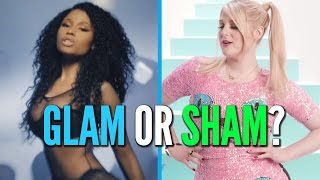 Nicki Minaj's Lacy Lingerie vs. Meghan Trainor's Cat Dress: Glam or Sham?(, 2015-01-14T17:11:43.000Z)