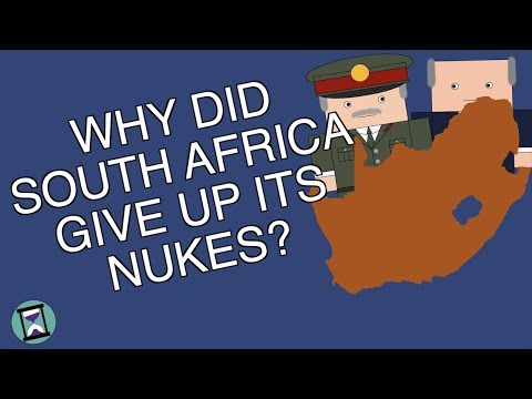Why did South Africa Give up its Nukes? (Short Animated Documentary)