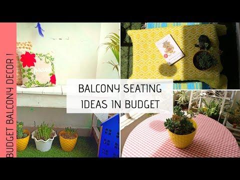 3 Seating Setups for Balcony Garden | Indian Balcony Garden | Balcony Decor Ideas