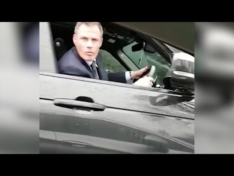 Jamie Carragher filmed spitting in direction of 14-year-old girl