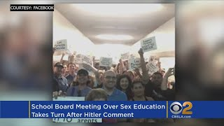Controversy Over 'Hitler' Remark As Hundreds Of Parents Speak Out On Sex Ed Lessons
