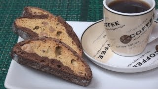 Chocolate And Almond Biscotti Recipe