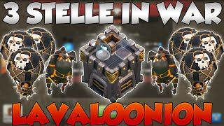 3 STELLE IN WAR CON LAVALOONION! - Clash of Clans [ITA]