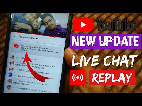 🔥New Update ! Youtube Live Chat RePLAY on Live Stream !