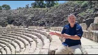 Beit Shean, the only city of the DECAPOLIS that is West of the Jordan river. See it with TourMeApp!