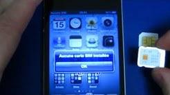Installation carte SIM Free Mobile dans iPhone 4 et paramétrage opérateur avec iTunes