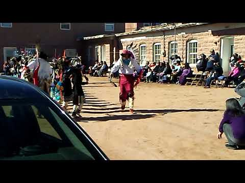 2018 Anshe:kwe dance group @ Zuni pueblo, NM