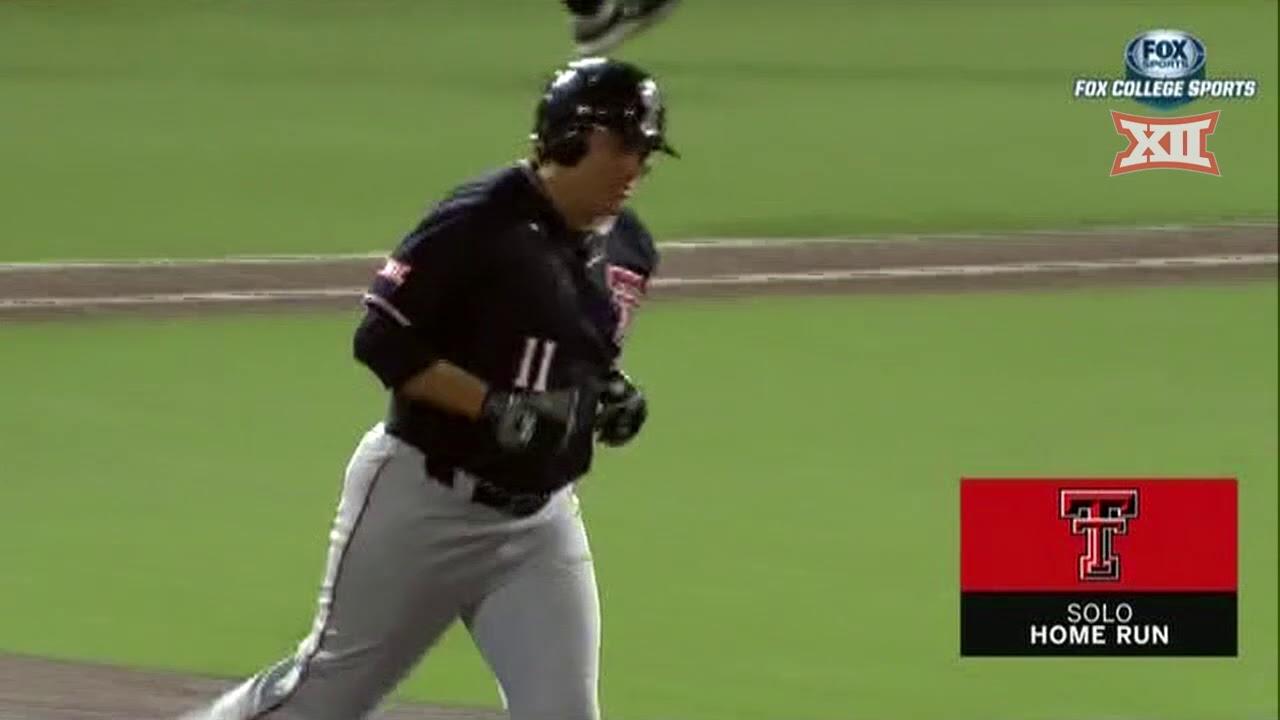 Texas Tech vs Oklahoma Baseball Highlights - Game 1 - YouTube