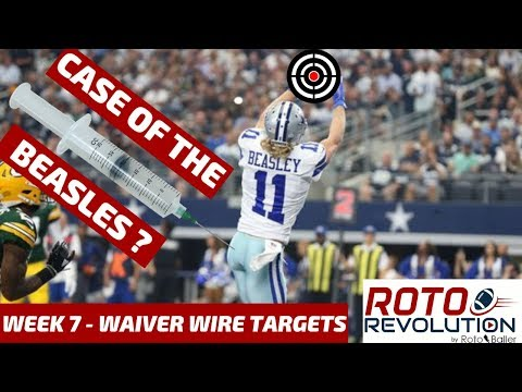 2018 Fantasy Football Advice  Week 7 Waiver Wire Players To Target