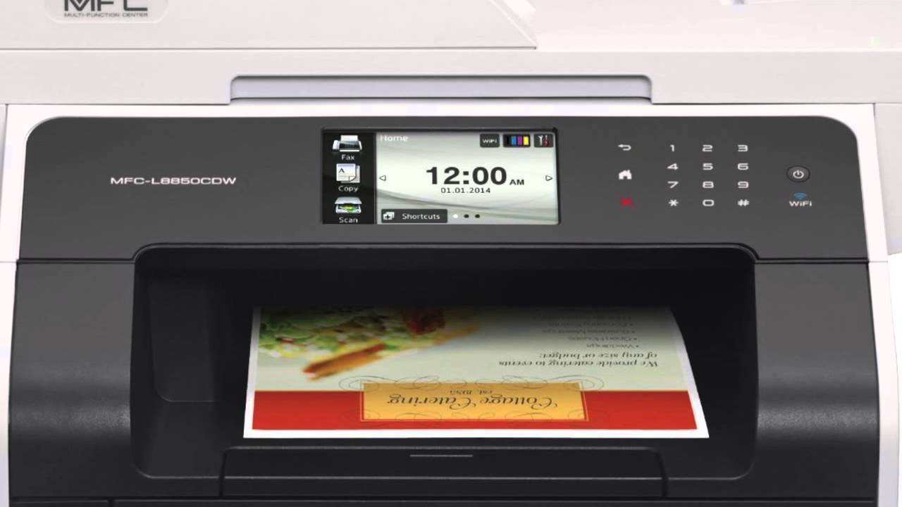 Review Of Brother Printer Mfc L8850cdw Wireless Color