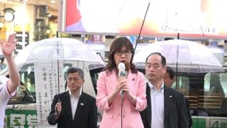2016年6月22日(公示日)17時半ごろ 場所:東二番丁通り・藤崎ファース...