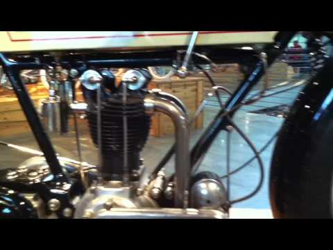 1922 Triumph at the Barber Vintage Motorsports Museum