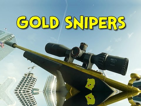 GOLD SNIPERS! - Battlefield Hardline Beta