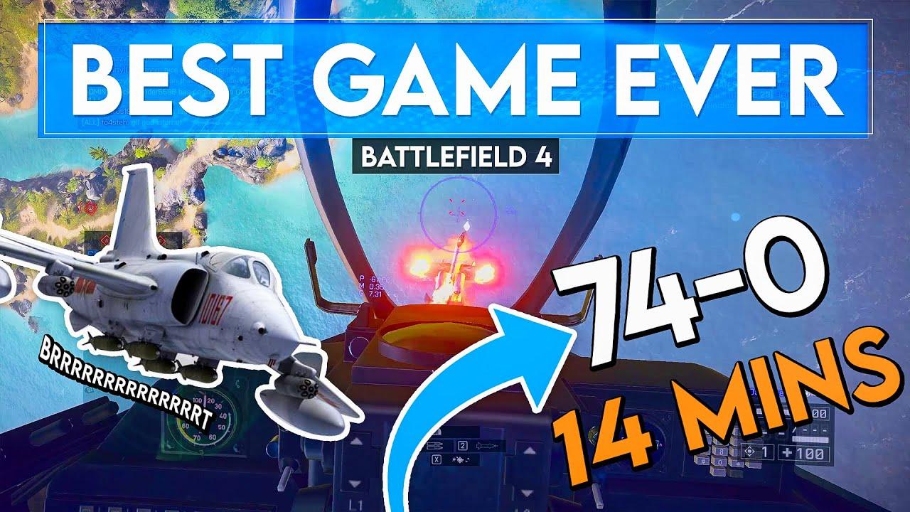 Peak Attack Jet Performance in Battlefield 4...