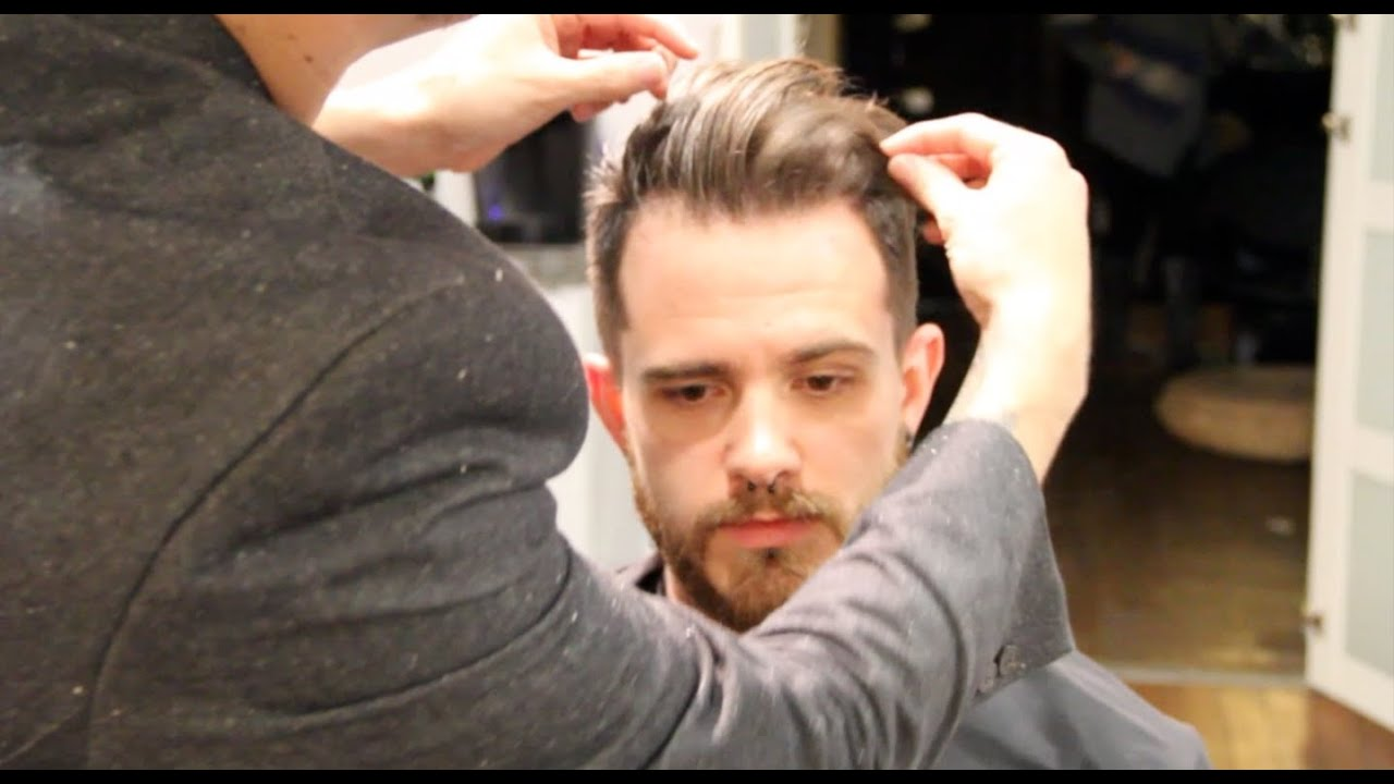 Pompadour - How to Style the Pompadour - pompadour hair style tutorial