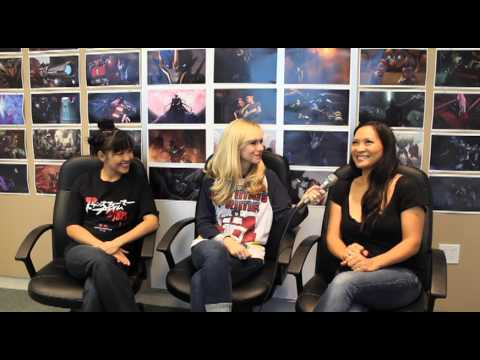 Ashley Eckstein of Her Universe s the Women of Transformers, Part 1