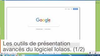 Logiciel pour écran interactif Iolaos : les outils de présentation avancés (1/2)