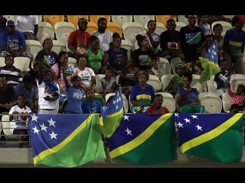 2016 OFC NATIONS CUP | Solomon Islands vs Fiji