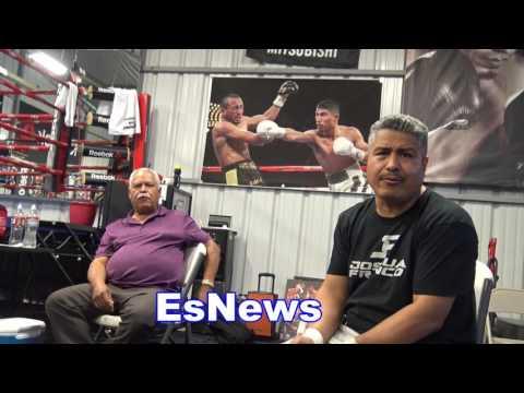 Robert Garcia On Roberto Duran Taking Shots At Chavez Jr Over Canelo Fight EsNews Boxing