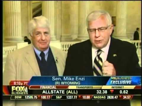 Senator Mike Enzi & Rep. Rob Bishop on Freedom Watch 05-13-11